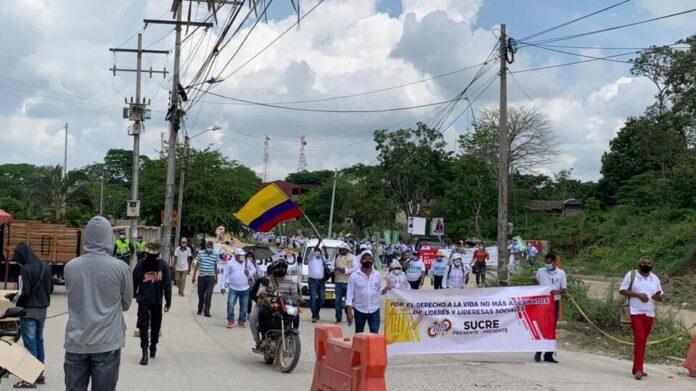 El comité del paro en Sucre se alista para la nueva movilización nacional del 26 de agosto - Noticias de Colombia