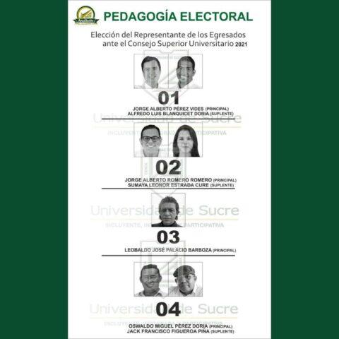 La elección del representante de los egresados de Unisucre pinta poco diferente - Noticias de Colombia